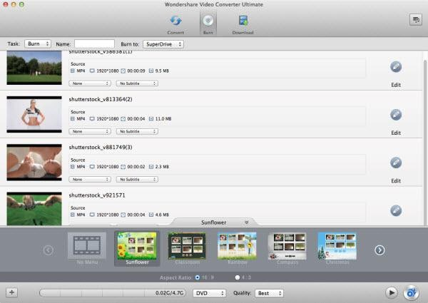 How to share and burn iMovie to iDVD
