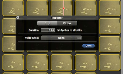 How to create iMovie stop motion