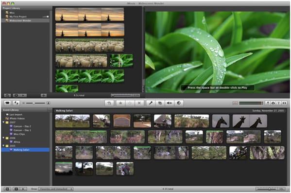best iMovie for PC alternative
