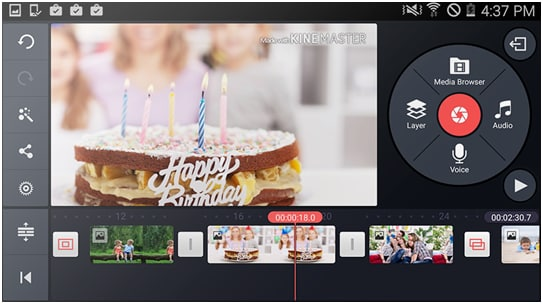 iMovie alternative for android
