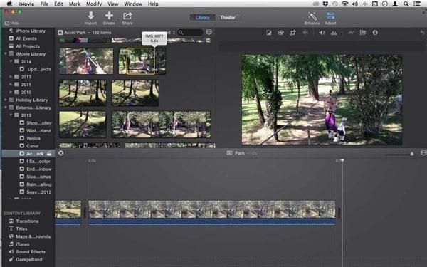 如何为 Mac 在 iMovie 中使用地图和背景