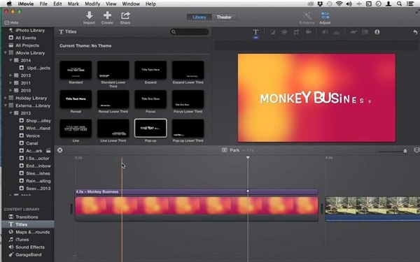 How to use Maps and Backgrounds in iMovie for Mac