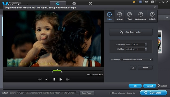 Video Cropping on iMovie and Wondershare Video Converter