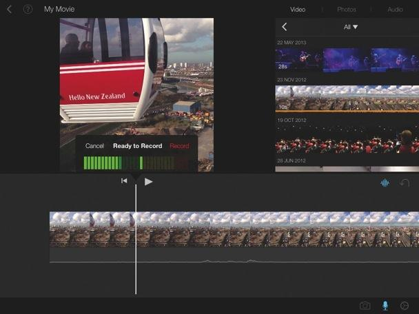 cool iMovie effects