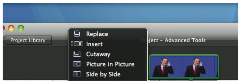 Import videos to iMovie
