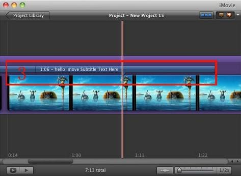 edit video with imovie
