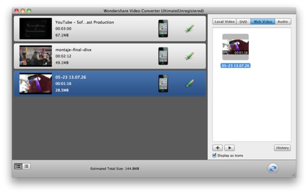 How to import mod to iMovie