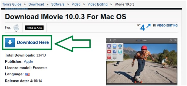 imovie 10 download