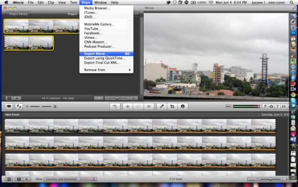 How to Make a Time-Lapse Movie in iMovie