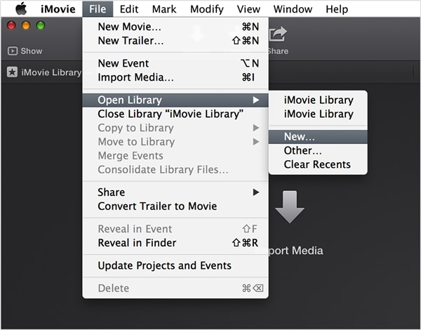 How to save iMovie projects on Mac