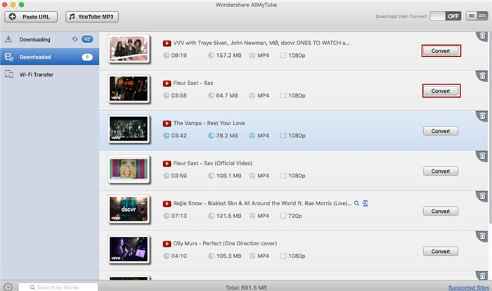 download YouTube subscription