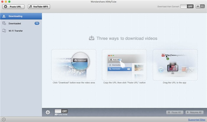 1-click youtube downloader alternative
