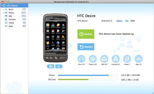 htc sync for mac