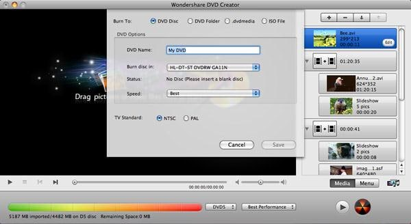 burn iphoto to dvd