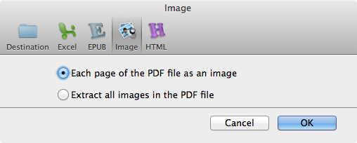convert pdf to Image in Mac