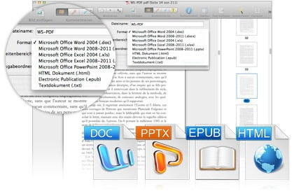Convert PDF to Multiple Formats