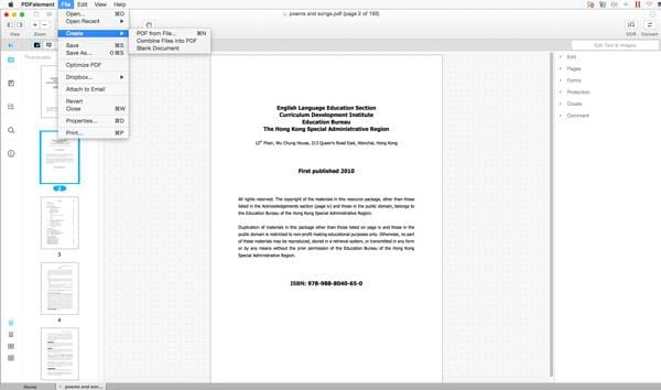 convert image to pdf mac