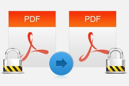 Remove PDF Password and Restrictions