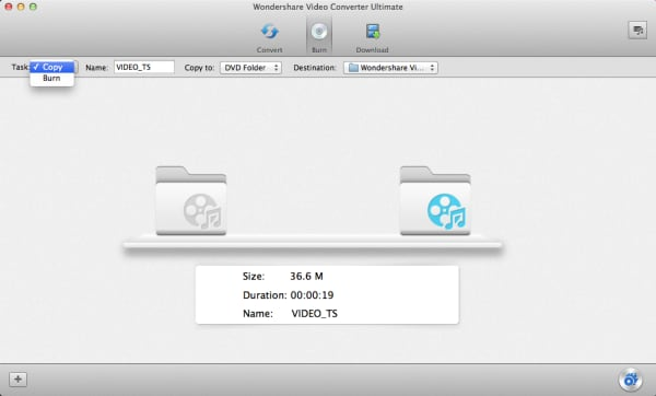 copy DVD Mountain Lion