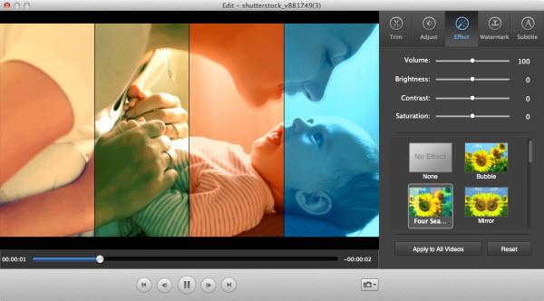 imovie video edit