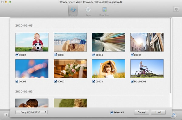 mac video converter ultimate camcorder files