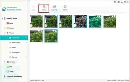 how do i delete a photo album from my ipad