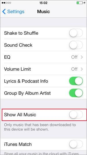 how to permanently delete music from iphone