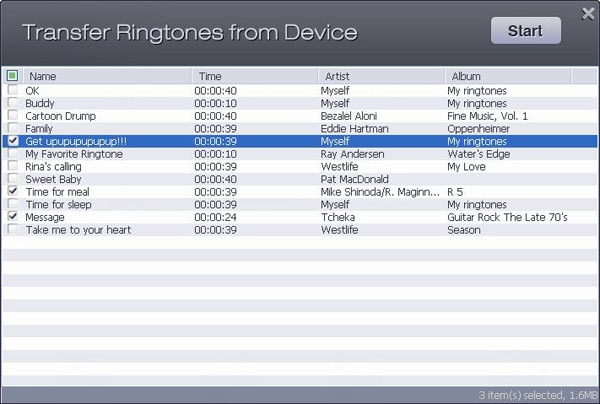 Back Up My Ringtones to iTunes