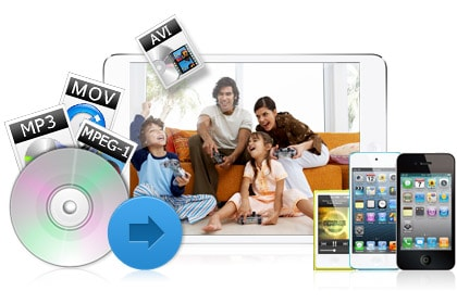 Convert Any Video/DVD/Song and Copy It Right to Your iOS Device