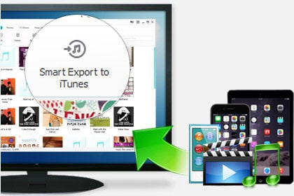 Import and Export iPhone data - Wondershare iPhone Transfer