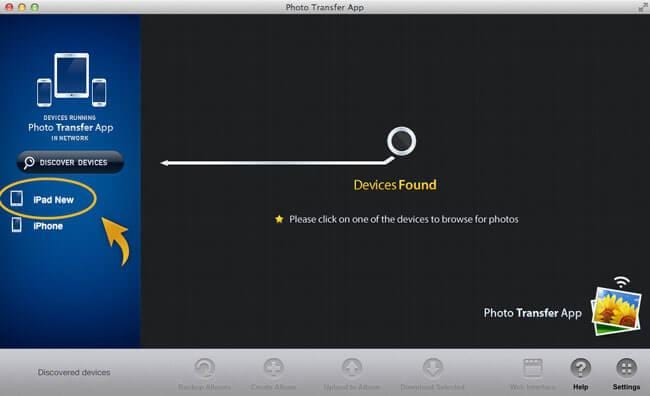 transfer photo from mac to ipad