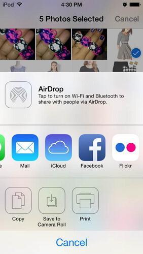transfer ipod photos to ipad