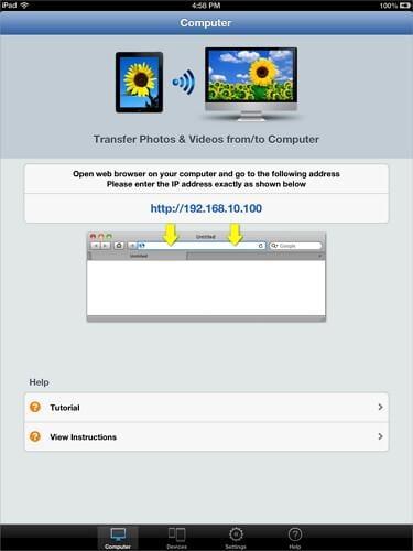 how to move photos from ipad to ipad