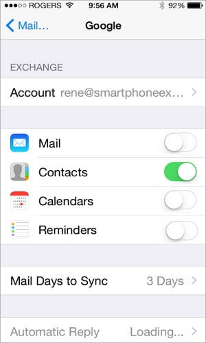 transfer sms from android to iphone