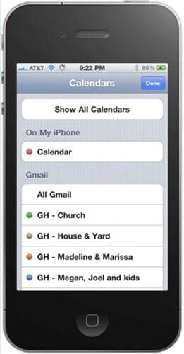sync iphone contacts to gmail