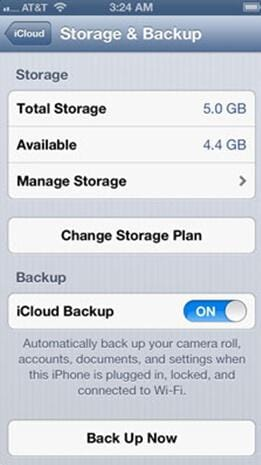 how to sync iphone with icloud