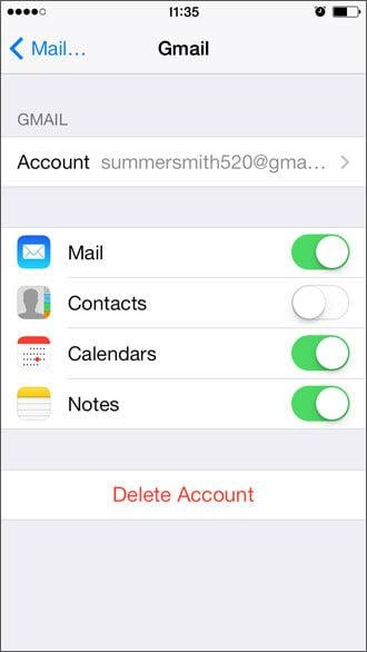 delete notes on iPhone