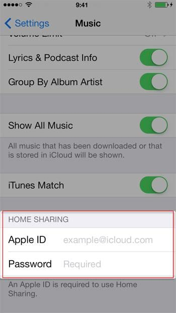 copy music from mac to ios 7