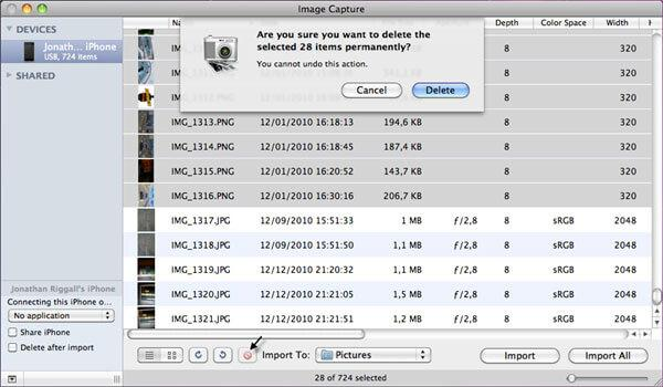 how to backup pictures from iphone