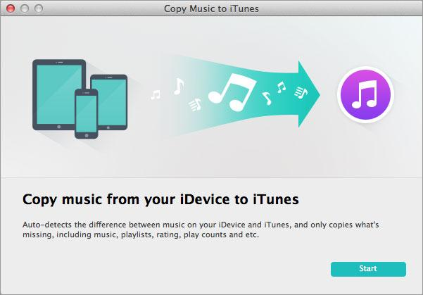 export iPad music to iTunes