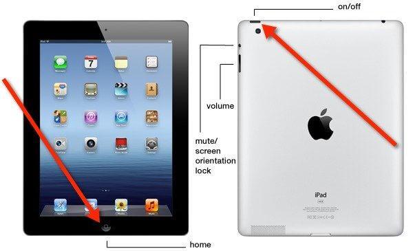 iPad hard restart