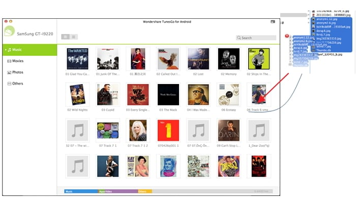 itunes music to nexus 5