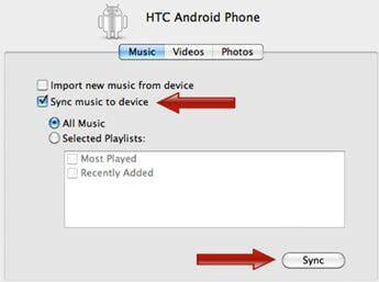 sync android with mac