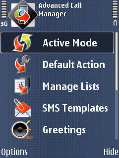 advanced call manager android