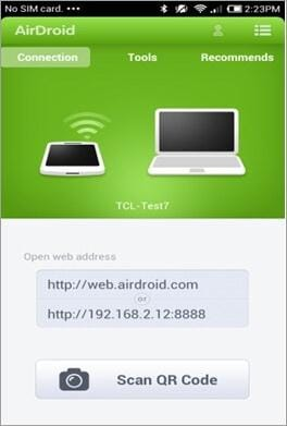 transfer android fils over wifi