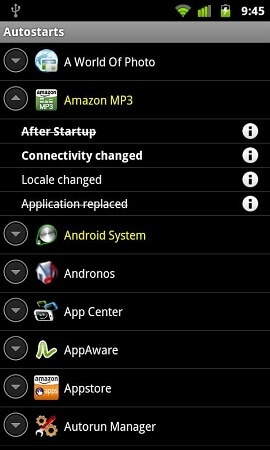 best android startup manager