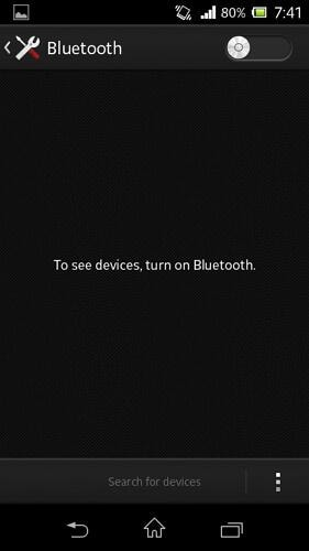 bluetooth manager for android