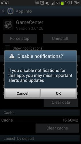 best android notification manager