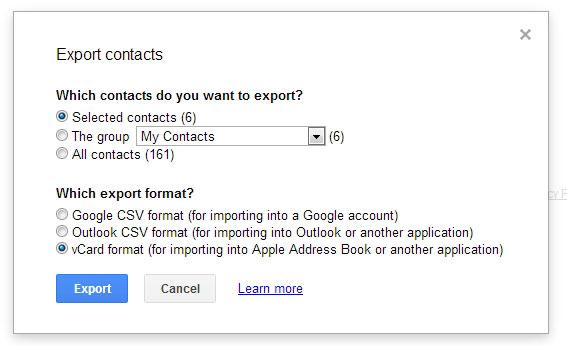 syncing contacts to android from gmail