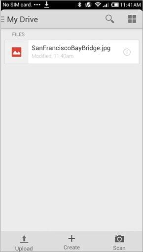 how to do file transfer android